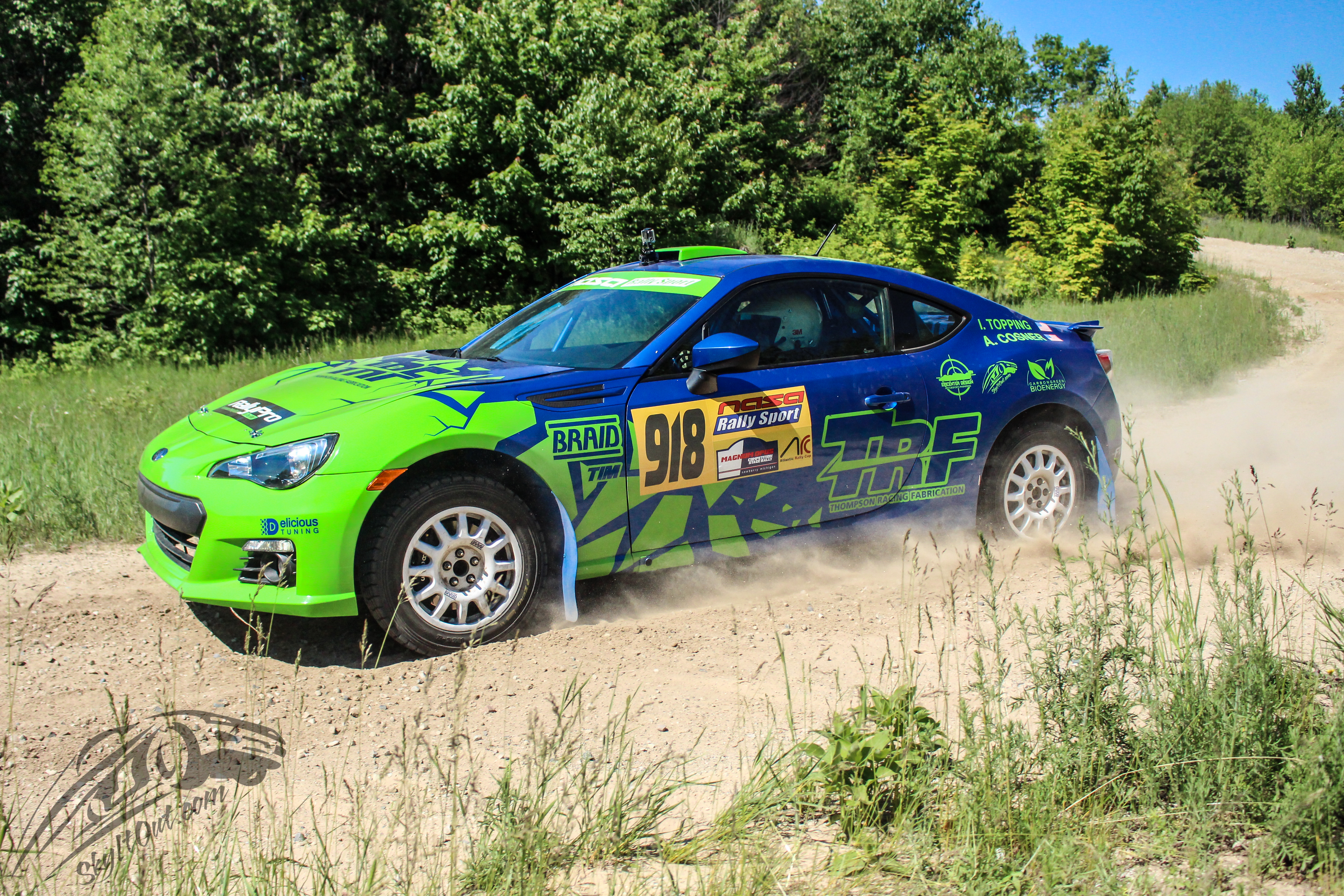 Rally Car Rental - Thompson Racing Fabrication