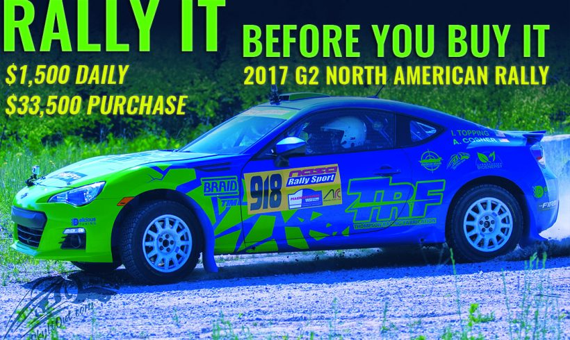 2017 Subaru Brz Trf Rally Car Build Also Available For Event Al