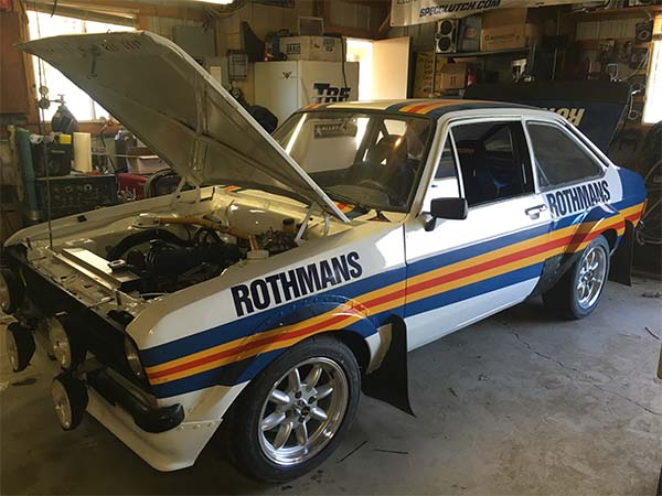 escort rs2000, fabrication